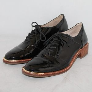 Shoes - Louise et Cie Franny Black Patent Oxford SZ 8